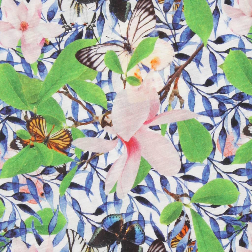 tuniek Maxy blue leaf