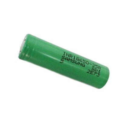 18650 Li-ion oplaadbare batterij Samsung INR18650-25R 3,7V 2500 mAh unprotected