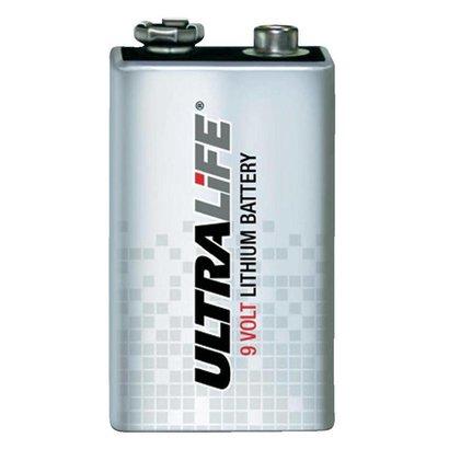 9V lithium blok batterij Ultralife U9VL-J AED