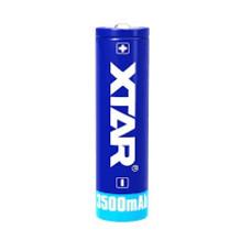 X-tar 18650 Li-ion batterij 3500 mAh protected