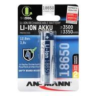 Ansmann 18650 Li-ion batterij 3500 mAh protected