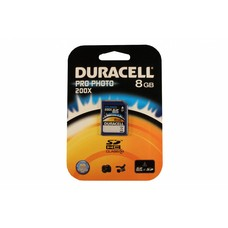 Duracell SD SDHC kaart pro-photo 8GB class 10