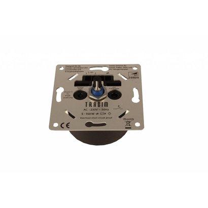 Tradim slimme inbouw LED dimmer 5 - 150W