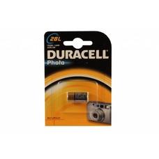 28L Duracell foto lithium batterij