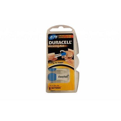 Duracell activair type 675 | blauw | PR44 hoortoestel batterijen