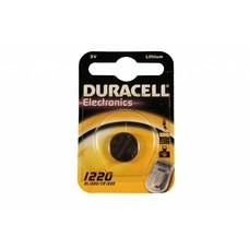 CR1220 3V Duracell lithium knoopcel batterij (3 Volt)