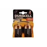 D cell batterijen Duracell plus blister 2 stuks