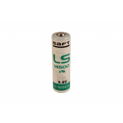 AA lithium batterij 3.6V Saft LS14500