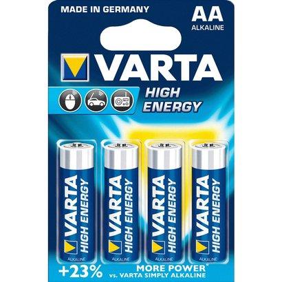 AA AM3 mignon batterijen Varta High Energy blister 4 stuks