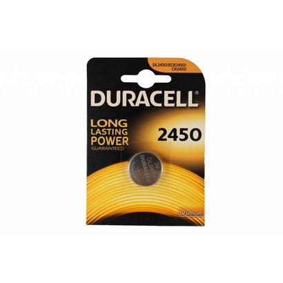 CR2450 DL2450 3V Duracell lithium knoopcel batterij (3 Volt)