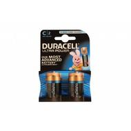 C cell batterijen Duracell ultra power blister 2 stuks