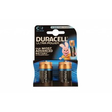 C cell batterijen Duracell ultra power blister 2 stuks