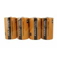 D cell batterijen Duracell industrial folie 4 stuks