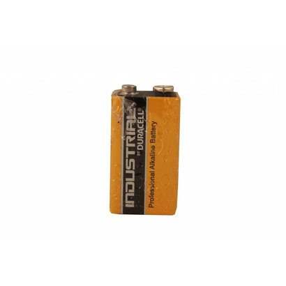9V blok batterij MN1604 Duracell industrial folie 1 stuk