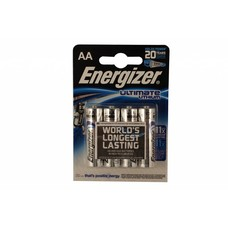 AA lithium batterijen energizer ultimate L91 blister 4 stuks