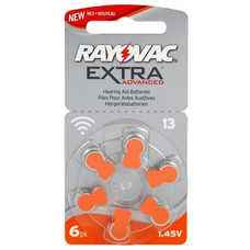 Rayovac extra advanced hoortoestel batterijen type 13 | oranje | PR48