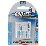 AAA oplaadbare batterijen Ansmann MaxE 800 mAh NiMH 1,2V