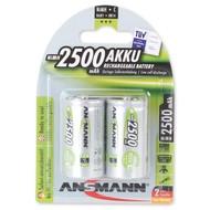 C cell oplaadbare batterijen Ansmann MaxE 1,2V 2500 mAh