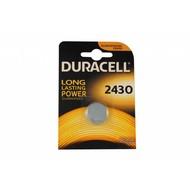 CR2430 3V Duracell lithium knoopcel batterij (3 Volt)