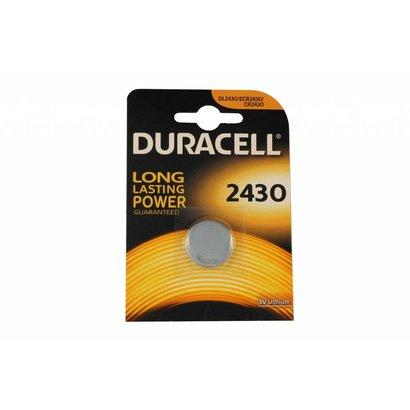CR2430 DL2430 3V Duracell lithium knoopcel batterij (3 Volt)
