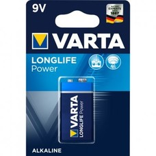 9V blok batterij Varta longlife power