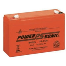 Loodaccu Powersonic 6V 12 Ah PS-6120
