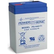 Loodaccu Powersonic PS-640 F1 6V 4,5 Ah