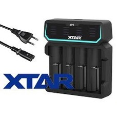 18650 Li-ion USB batterijlader XTAR D4