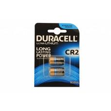 CR2 Duracell lithium batterij blister 2 stuks