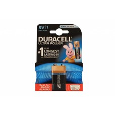 9V blok batterij Duracell ultra power blister
