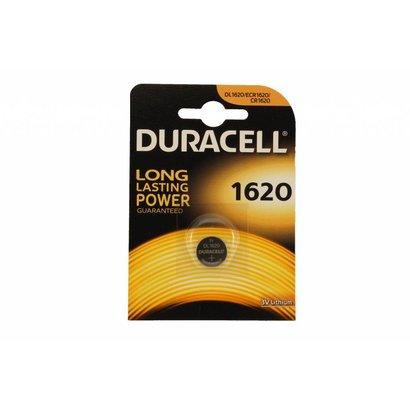 CR1620 3V Duracell lithium knoopcel batterij (3 Volt)