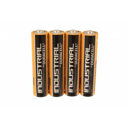 AAA LR03 batterijen Duracell industrial folie 4 stuks