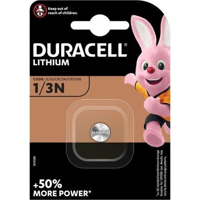 1/3N CR1/3N 3V Duracell foto lithium batterij