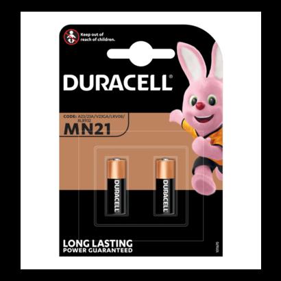 MN21 | A23 | 23AE | GP23A 12V Duracell batterijen blister 2 stuks