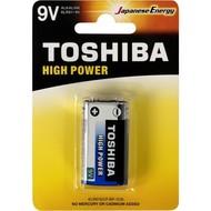 Alkaline 9V blok batterij Toshiba - speciale aanbieding
