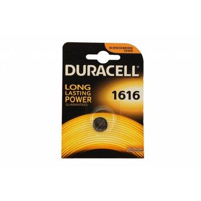 CR1616 3V Duracell lithium knoopcel batterij (3 Volt)