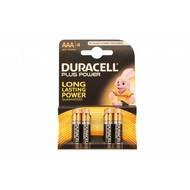 AAA batterijen Duracell plus blister 4 stuks