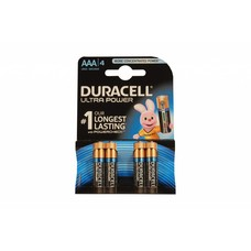 AAA batterijen Duracell ultra power blister 4 stuks