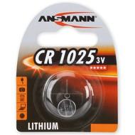 CR1025 3V Ansmann lithium knoopcel batterij (3 volt)