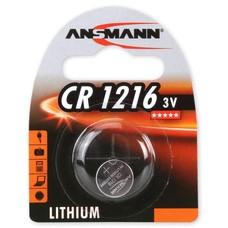 CR1216 3V Ansmann lithium knoopcel batterij (3 Volt)