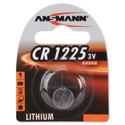 CR1225 3V Ansmann lithium knoopcel batterij (3 Volt)