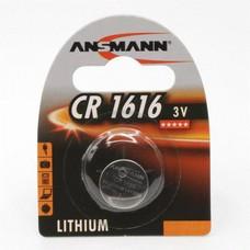 CR1616 3V Ansmann lithium knoopcel batterij (3 Volt)