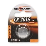 CR2016 3V Ansmann lithium knoopcel batterij (3 Volt)