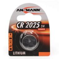 CR2025 batterij 3V Ansmann lithium knoopcel (3 Volt)