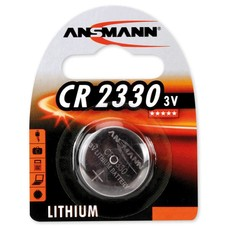 CR2330 3V Ansmann lithium knoopcel batterij (3 Volt)