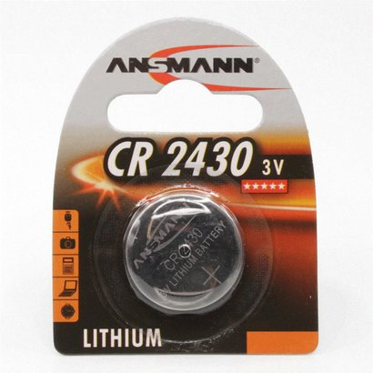 CR2430 3V Ansmann lithium knoopcel batterij (3 Volt)