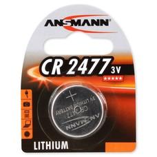 CR2477 3V Ansmann lithium knoopcel batterij (3 Volt)