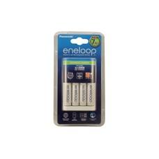 Eneloop 7 uurs batterijlader incl. 4 AA oplaadbare batterijen 2000 mAh