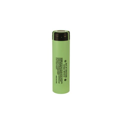 18650 Li-ion oplaadbare batterij Panasonic NCR-18650B 3,6V 3400 mAh unprotected