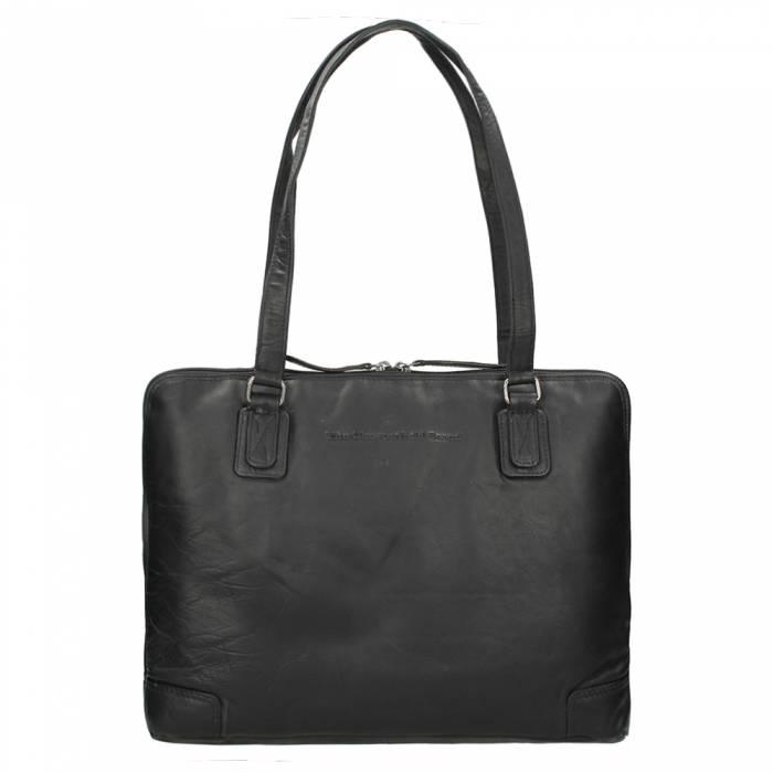 Chesterfield Flint Shoulderbag Large black